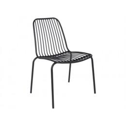 Venkovní židle LINEATE, černá