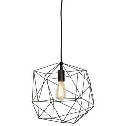 Závěsná lampa ANTWERP Ø 38 cm,černý kov