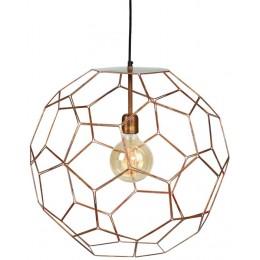 Závěsná lampa ANTWERP Ø 38 cm,copper