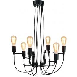 Závěsná lampa PITTSBURG Ø 20 cm,černý kov
