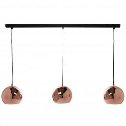 Ball Pendant, závěsné světlo Ø25 cm měděná/lesk