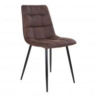 Jídelní židle MIDDELFART, tmavě hnědá
