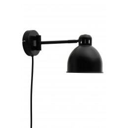 Nástěnná lampa JOB FRANDSEN, černá