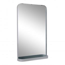 Zrcadlo BOLOGNA House Nordic, šedý ocelový rám
