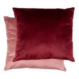 Polštář BRAGA HOUSE NORDIC dvoubarevný růžový /bordó 45 cm