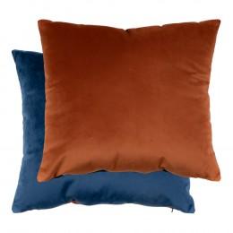 Polštář BRAGA HOUSE NORDIC dvoubarevný modrý/orange 45 cm