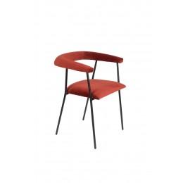 Židle s područkami HAILY orange