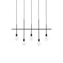 Závěsné svítidlo HARPER FRANDSEN 3 žárovky,kov černý
