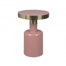 Odkládací smaltovaný stolek GLAM ZUIVER,růžový