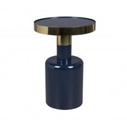 Odkládací smaltovaný stolek GLAM ZUIVER,modrý