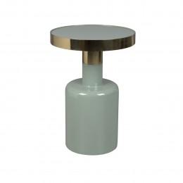 Odkládací smaltovaný stolek GLAM ZUIVER,zelený