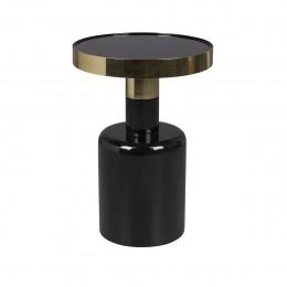 Odkládací smaltovaný stolek GLAM ZUIVER,černý