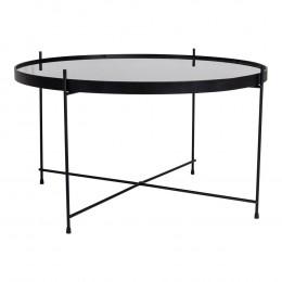 Konferenční stolek VENEZIA HOUSE NORDIC ø70 cm,mosaz