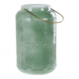 Lucerna na svíčku NICE XL 30 cm, zelená