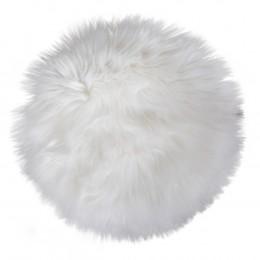 Podsedák Lambskin 100% polyester, bílý