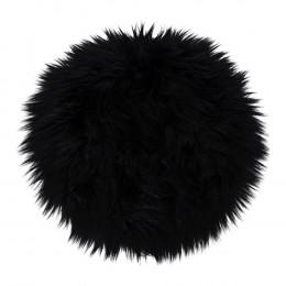 Podsedák Lambskin 100% polyester, černý