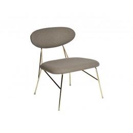 Židle LOUNGE QUEEN PRESENT TIME, modrá