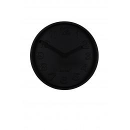 Hodiny CONCRETE ZUIVER Ø 31,6 cm,celé černé