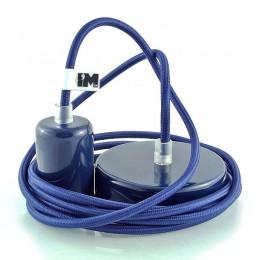 Lak 1-závěsná žárovka tmavě modrá