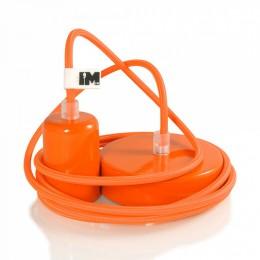 Lak 1-závěsná žárovka oranžová