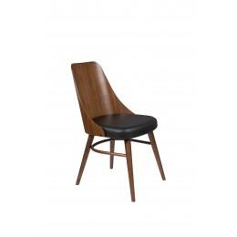Jídelní židle CHAYA DUTCHBONE dřevěná,hnědá