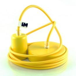 Lak 1-závěsná žárovka žlutá