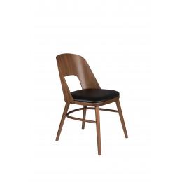 Jídelní židle TALIKA DUTCHBONE dřevěná,hnědá