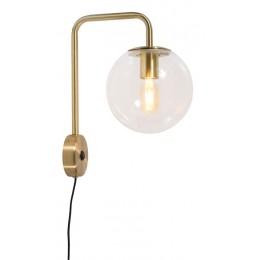 Nástěnné svítidlo WARSAW 20 cm iron/glass, gold