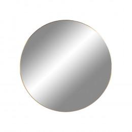 Nástěnné zrcadlo JERSEY mosaz,Ø40 cm