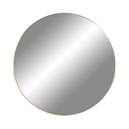 Nástěnné zrcadlo JERSEY mosaz,Ø60 cm