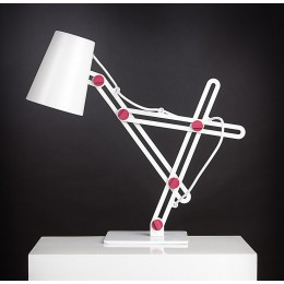 Stolní lampa Looker pink