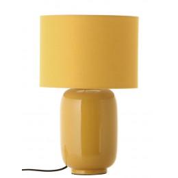 Stolní lampa CÁDIZ FRANDSEN,lesklá žlutá