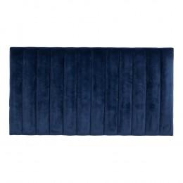 Čelo postele VARBERG tmavě modré,samet