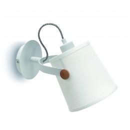 Nástěnné svítidlo NORDICA MANTRA,bílé