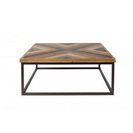 Odkládací stolek kulatý DENISE ZUIVER Ø44 cm,hnědý