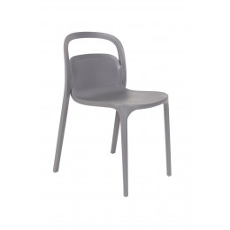 Jídelní židle REX ZUIVER,plast šedý