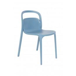 Jídelní židle REX ZUIVER,plast modrý