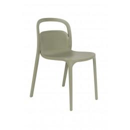Jídelní židle REX ZUIVER,plast zelený