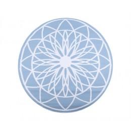 Venkovní koberec FAIRYTALE Ø150 cm,světle modrý