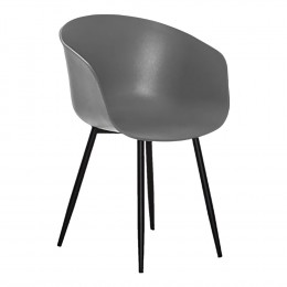 Jídelní židle RODA HOUSE NORDIC,plast šedá