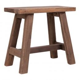 Odkládací stolek  BARCELONA HOUSE NORDIC 50x25 cm,teak přírodní
