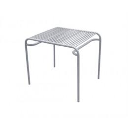 Zahradní coffee stolek LINEATE, šedý