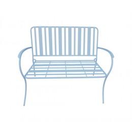 Zahradní lavice LINES, modrá