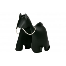 Houpací kůň MEIA WOOOD,plast černý