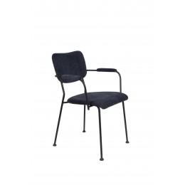 Jídelní židle LESTER ZUIVER,světle šedá