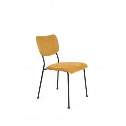 Jídelní židle BENSON ZUIVER,okrová