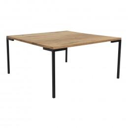Konferenční stolek LUGANO House Nordic 90x90 cm ,dřevo dub