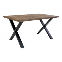 Jídelní stůl TOULON HOUSE NORDIC 140X95 cm,tmavý dub