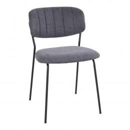 Jídelní židle STOCKHOLM černá, černá podnož