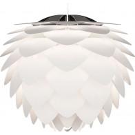 Vita Silvia 02007 bílá, 45x45 cm se závěsem